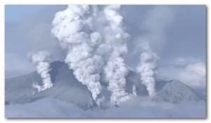 御嶽山 噴火