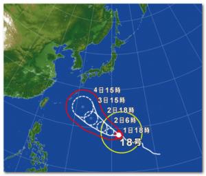 2014年台風18号