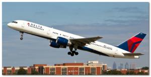 デルタ航空B757