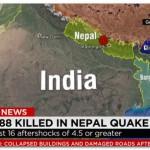 【ネパール地震】エベレスト周辺で雪崩発生!犠牲者多数か?