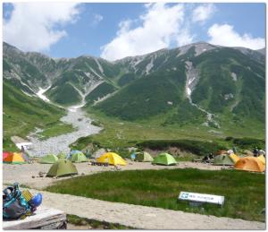 雷鳥沢キャンプ
