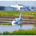 花より男子のロケ地【岡南飛行場】セスナジェット機オーバーラン