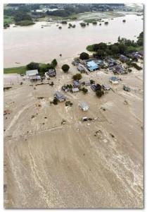 鬼怒川洪水