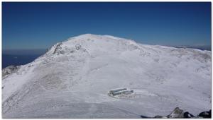 木曽駒ヶ岳(冬)