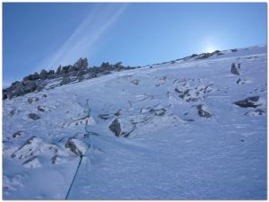 木曽駒頂上へ