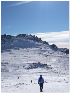木曽駒から中岳へ