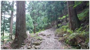 武奈ヶ岳登山口2