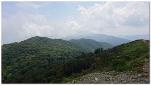 武奈ヶ岳山頂からの景色
