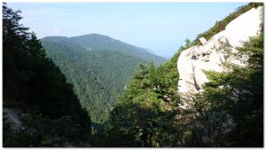 金糞峠から堂満岳