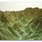 【やまつみ】山岳立体模型とは?穂高連峰難易度は?